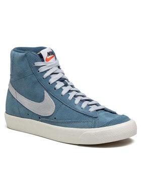 Nike Nike Buty Blazer Mid '77 Suede CI1172 400 Niebieski