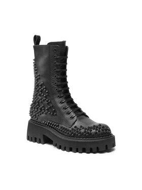 Loriblu Loriblu Členková obuv 2I 4TL021 4451 Čierna