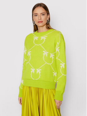 Pinko Pinko Sweater Abbey Road 1G16C3 Y7GY Zöld Regular Fit