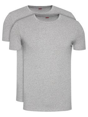 Levi's® Levi's 2 marškinėlių komplektas 905055001 Pilka Regular Fit