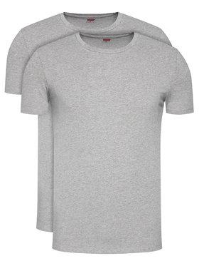 Levi's® Levi's® Lot de 2 t-shirts 905055001 Gris Regular Fit