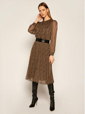Liu Jo Liu Jo Ежедневна рокля WF0500 T4184 Кафяв Regular Fit
