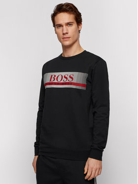 Boss Boss Μπλούζα Authentic 50449939 Μαύρο Regular Fit
