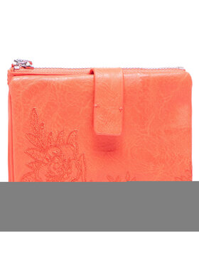Desigual Desigual Veľká dámska peňaženka 21SAYP25 Oranžová