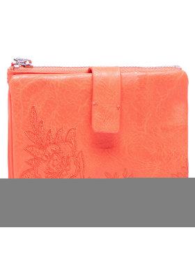 Desigual Desigual Velká dámská peněženka 21SAYP25 Oranžová