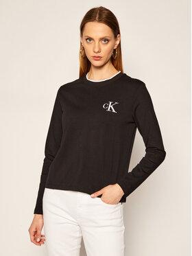 Calvin Klein Jeans Calvin Klein Jeans Halenka J20J214459 Černá Regular Fit