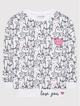 Coccodrillo Coccodrillo Sweatshirt ZC1132101MEO Weiß Regular Fit