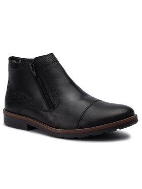 Rieker Rieker Обувки 35381-00 Черен