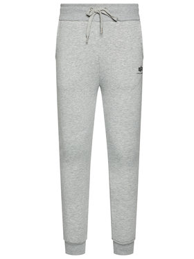 Alpha Industries Alpha Industries Jogginghose Basic Jogger 116370 Grau Slim Fit