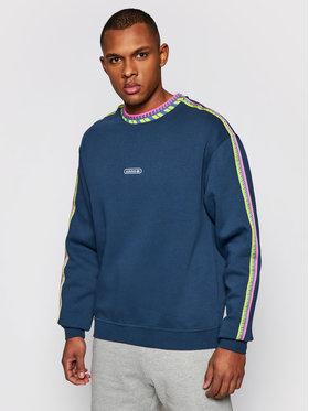 adidas adidas Bluză Rib Detail GN3830 Bleumarin Standard Fit