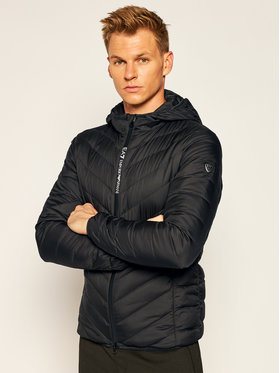 EA7 Emporio Armani EA7 Emporio Armani Пухено яке 8NPB07 PNE1Z 1200 Черен Regular Fit