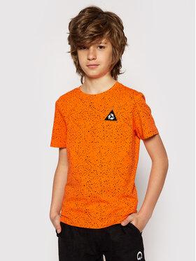 4F 4F T-Shirt HJL21-JTSM006C Πορτοκαλί Regular F it