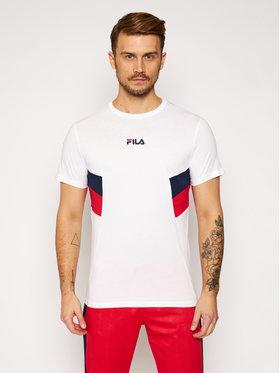 Fila Fila T-Shirt Barry Tee 687482 Biały Regular Fit
