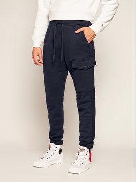 G-Star RAW G-Star RAW Teplákové kalhoty Side Stripe Utility D17719-A612-4213 Tmavomodrá Tapered Fit
