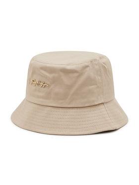 Tommy Hilfiger Tommy Hilfiger Bucket kalap Signature AW0AW10056 Bézs