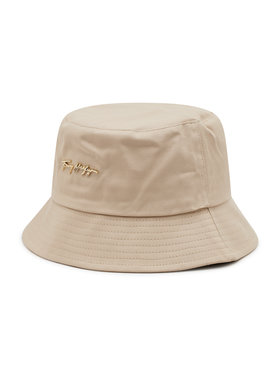 Tommy Hilfiger Tommy Hilfiger Bucket Signature AW0AW10056 Beżowy