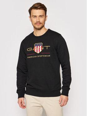 Gant Gant Sweatshirt Archive Shield 2046071 Noir Regular Fit