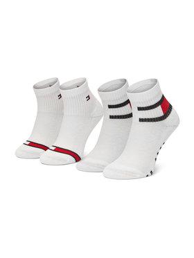 Tommy Hilfiger Tommy Hilfiger Súprava 2 párov vysokých detských ponožiek 100002319 Biela