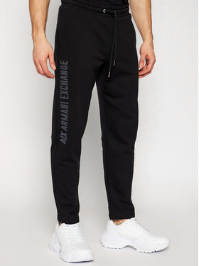 Armani Exchange Armani Exchange Pantalon jogging 3KZPAJ ZJ7RZ 1200 Noir Regular Fit