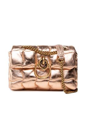 Pinko Pinko Handtasche Lovelink Mini Puff Origami 2 Cl. AI 21-22 PLTT 1P22BJ Y7FV Rosa