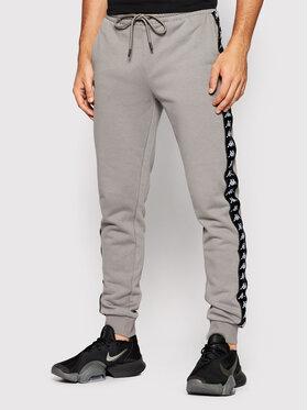 Kappa Kappa Teplákové kalhoty Jenner 310014 Šedá Regular Fit
