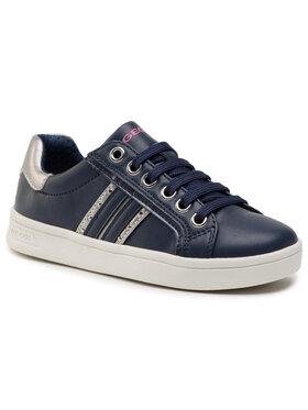 Geox Geox Sneakersy J Djrock G. G J944MG 054AJ C0673 M Tmavomodrá