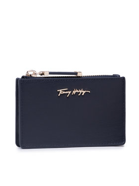 Tommy Hilfiger Tommy Hilfiger Custodie per carte di credito Iconic Tommy Cc Holder AW0AW10139 Blu scuro