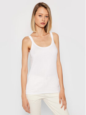 United Colors Of Benetton United Colors Of Benetton Top 3GA2E8397 Weiß Regular Fit