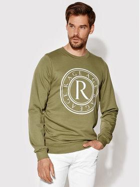 Rage Age Rage Age Sweatshirt Crewneck 2 Grün Slim Fit