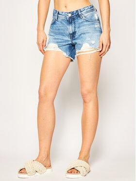 Pepe Jeans Pepe Jeans Džínsové šortky Thrasher Blues PL800904 Tmavomodrá Regular Fit