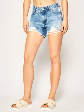 Pepe Jeans Pepe Jeans Szorty jeansowe Thrasher Blues PL800904 Granatowy Regular Fit