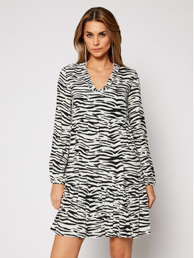 Pinko Pinko Kasdieninė suknelė Zebra 20202 PRR 1N133V 8495 Balta Regular Fit