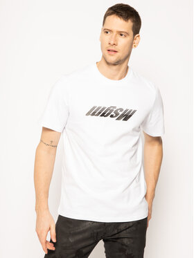 MSGM MSGM T-Shirt 2840MM109 207098 Weiß Regular Fit