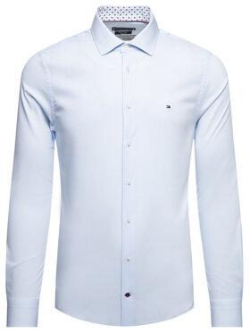Tommy Hilfiger Tailored Tommy Hilfiger Tailored Košile Oxford Classic TT0TT06520 Modrá Slim Fit