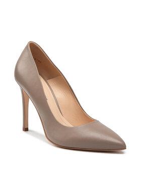 Solo Femme Solo Femme Pantofi cu toc subțire 34201-A8-K16/001-04-00 Bej