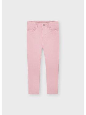 Mayoral Mayoral Spodnie materiałowe 511 Różowy Slim Fit