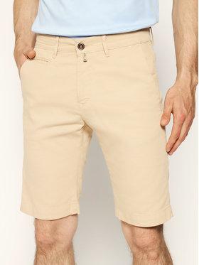 Pierre Cardin Pierre Cardin Szorty materiałowe 3465/2040 Beżowy Tailored Fit