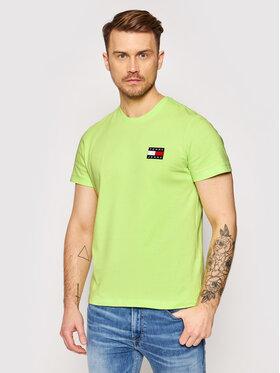 Tommy Jeans Tommy Jeans T-shirt Tjm Badge Tee DM0DM06595 Vert Regular Fit