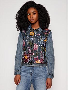 Desigual Desigual Giacca di jeans Balt 21SWED13 Blu scuro Slim Fit