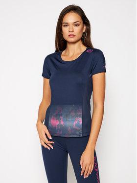 EA7 Emporio Armani EA7 Emporio Armani Techniniai marškinėliai 6HTT11 TJ56Z 1554 Tamsiai mėlyna Slim Fit