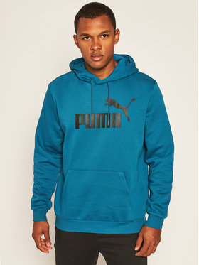 Puma Puma Džemperis Ess Hoody Fl Big Logo 855031 Mėlyna Regular Fit
