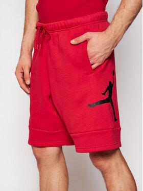 Nike Nike Pantaloni scurți sport Jordan Jumpman Air CK6707 Roșu Standard Fit