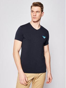Emporio Armani Emporio Armani Marškinėliai 111556 0P525 00135 Tamsiai mėlyna Slim Fit