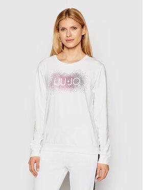 Liu Jo Sport Liu Jo Sport Sweatshirt TA1161 F0831 Blanc Regular Fit