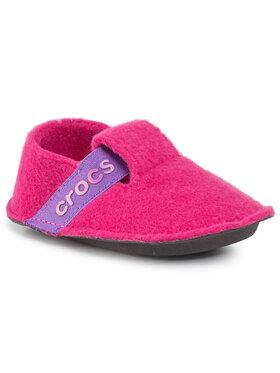 Crocs Crocs Bačkory Classic Slipper K 205349 Růžová