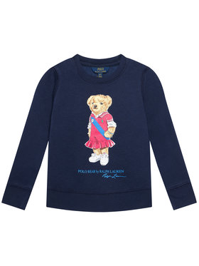 Polo Ralph Lauren Polo Ralph Lauren Bluză Bear Fleece 313837228001 Bleumarin Regular Fit