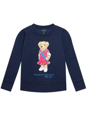 Polo Ralph Lauren Polo Ralph Lauren Bluza Bear Fleece 313837228001 Granatowy Regular Fit