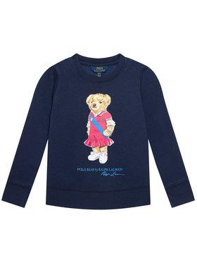Polo Ralph Lauren Polo Ralph Lauren Pulóver Bear Fleece 313837228001 Sötétkék Regular Fit
