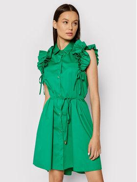 Rinascimento Rinascimento Vestito chemisier CFC0017910002 Verde Regular Fit