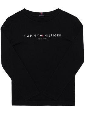 TOMMY HILFIGER TOMMY HILFIGER Μπλουζάκι Essential KB0KB06105 D Μαύρο Regular Fit